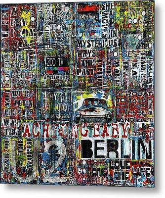 Achtung Baby Metal Print by Frank Van Meurs