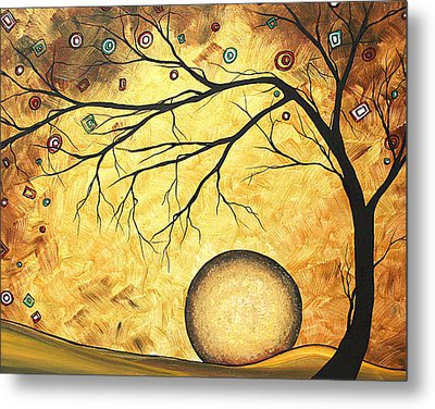 Across The Golden River By Madart Metal Print by Megan Duncanson
