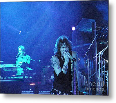 Aerosmith-steven Tyler-00107 Metal Print by Gary Gingrich Galleries