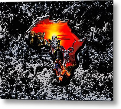 Africa 03a Metal Print by Brian Reaves