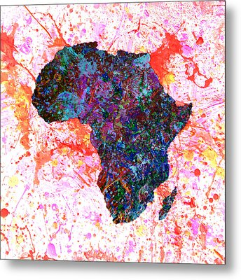Africa 12a Metal Print by Brian Reaves