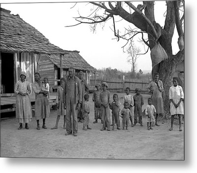 African American Descendants Of Former Metal Print by Everett