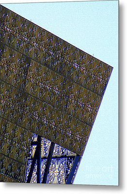 African American History And Culture 4 Metal Print by Randall Weidner
