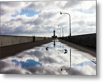 After The Rains  Metal Print by Mary Amerman