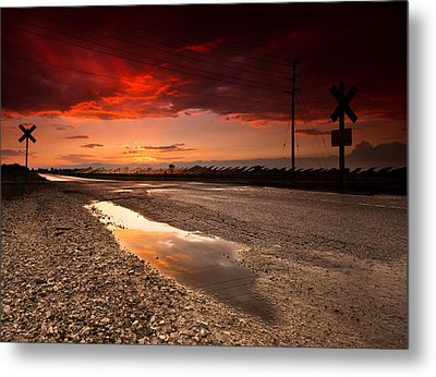 After The Storm Metal Print by Cale Best