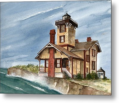 After The Storm Metal Print by Nancy Patterson