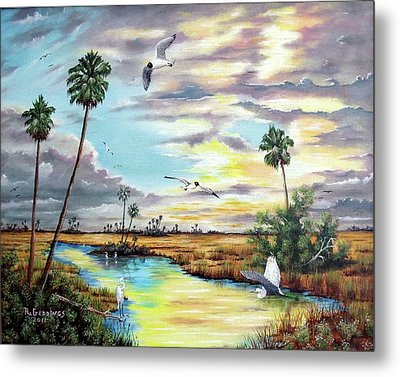 After The Storm Metal Print by Riley Geddings