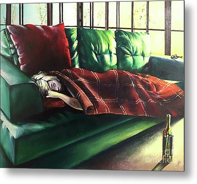 Aftereffects Metal Print by Alessandra Andrisani