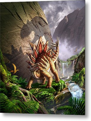 Against The Wall Metal Print by Jerry LoFaro