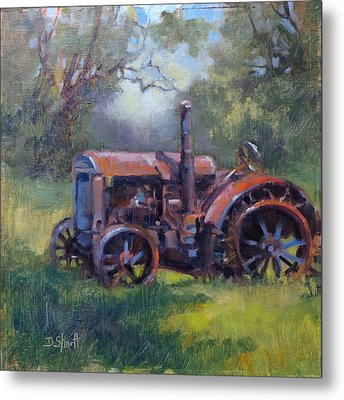 Aged To Perfection Metal Print by Donna Shortt