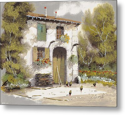 AIA Metal Print by Guido Borelli