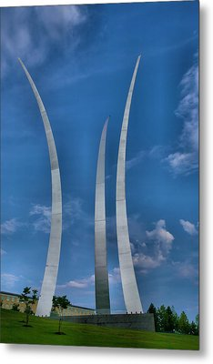Air Force Memorial Iv Metal Print by Steven Ainsworth