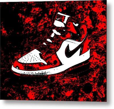 Air Jordan I Notorious Metal Print by Brian Reaves