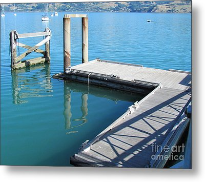 Akaroa  Metal Print by Joyce Woodhouse