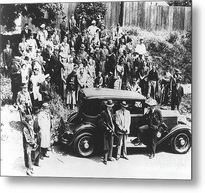 Al Capone (1899-1947) Metal Print by Granger