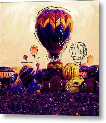 Albuquerque International Balloon Fiesta 252 2 Metal Print by Mawra Tahreem
