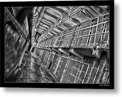 Alcatraz The Cells Metal Print by Blake Richards