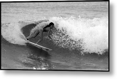 Alessa Quizon Cutback Metal Print by Brad Scott