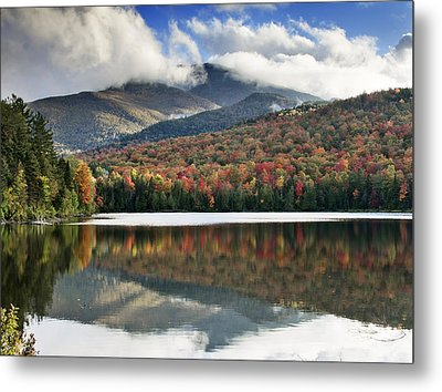 Algonquin Peak From Heart Lake - Adirondack Park - New York Metal Print by Brendan Reals
