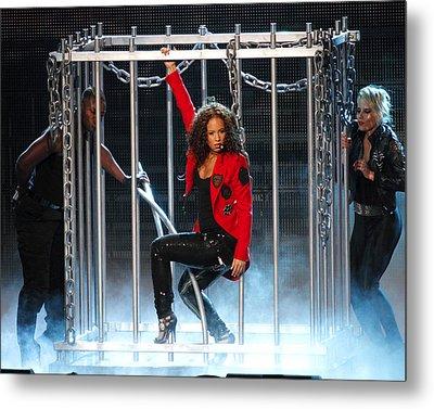 Alicia Keys Uncaged Metal Print by Steven Sachs