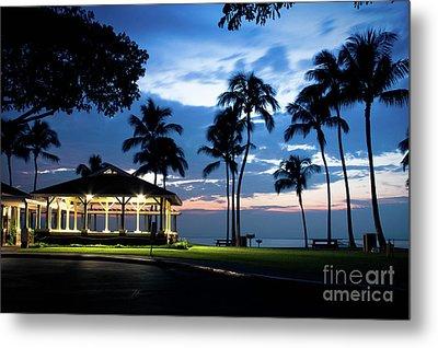 Alii Kahekili Nui Ahumanu Beach Park Hanakaoo Kaanapali Maui Hawaii Metal Print by Sharon Mau