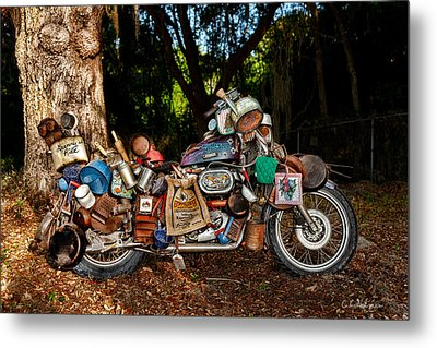 All But The Kitchen Sink Metal Print by Christopher Holmes