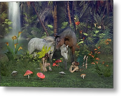 All Dreams Are Possible Metal Print by Betsy C Knapp