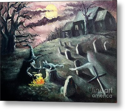 All Hallow's Eve Metal Print by Randy Burns