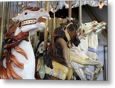 All The Pretty Horses Metal Print by Anne Babineau