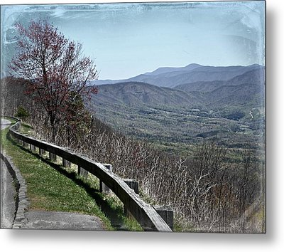Along The Parkway Metal Print by Jim Cook