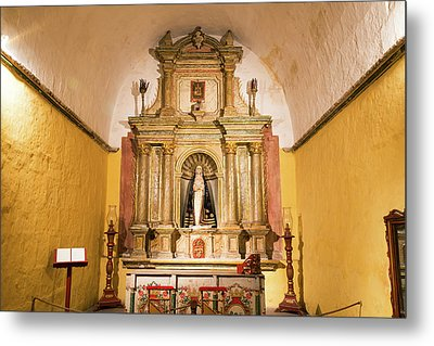 Altar In Santa Catalina Monastery Metal Print by Jess Kraft