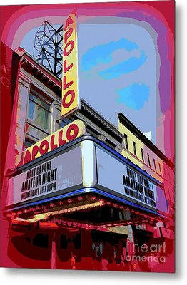 Amateur Night At The Apollo Metal Print by Ed Weidman