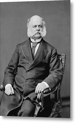 Ambrose Burnside And His Sideburns Metal Print by War Is Hell Store