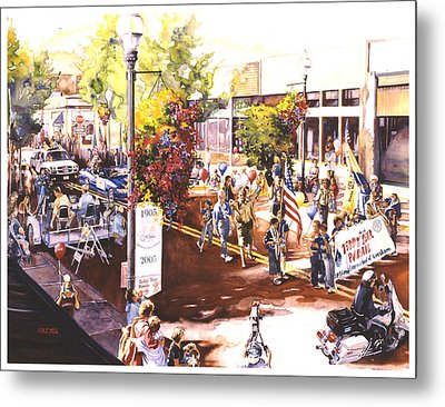 America At Its Best Metal Print by Mike Hill