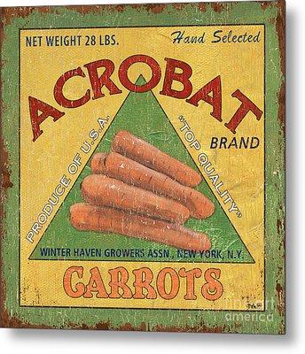 Americana Vegetables 2 Metal Print by Debbie DeWitt