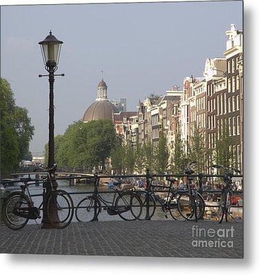 Amsterdam Bridge Metal Print by Andy Smy