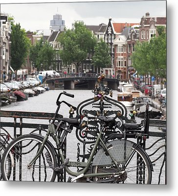 Amsterdam Metal Print by Rona Black