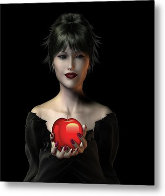 An Apple A Day . . . Metal Print by David Griffith