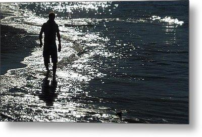 An Ocean Walk Metal Print by Patricia Lyons