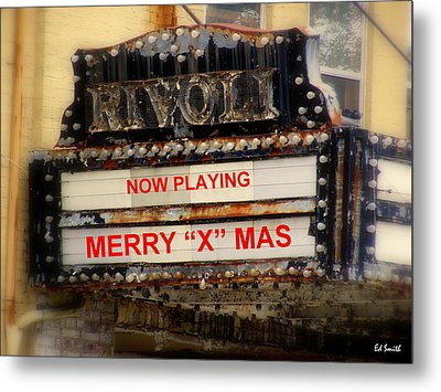 An X Rated Holiday Metal Print by Ed Smith