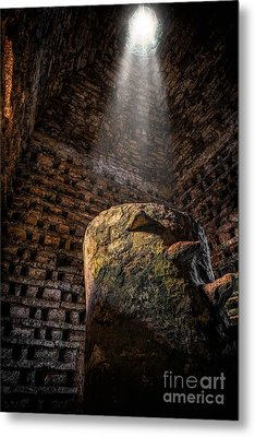 Ancient Dovecote Metal Print by Adrian Evans