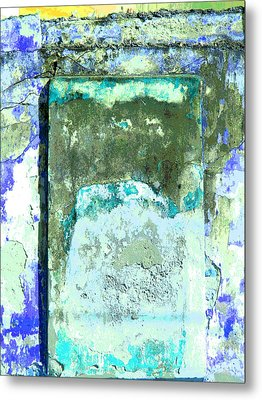 Ancient Wall 2 By Michael Fitzpatrick Metal Print by Mexicolors Art Photography