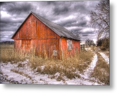 ..and Morning Brings Another Empty Day  Metal Print by Russell Styles