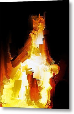 And The Angel Said Do Not Fear Metal Print by Michael Durst