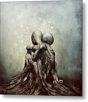And Though We Fade Away Metal Print by Cameron Gray