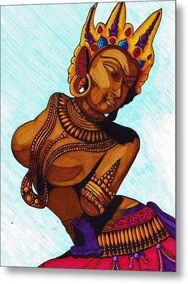 And We Dance Metal Print by Christie Ross