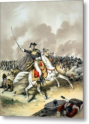 Andrew Jackson At The Battle Of New Orleans Metal Print by War Is Hell Store