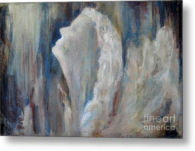 Angel In Soft Pastel Metal Print by Cathy Weaver