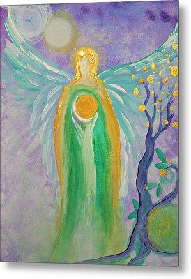 Angel Of Acceptance Metal Print by Alma Yamazaki