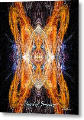 Angel Of Journeys Metal Print by Diana Haronis